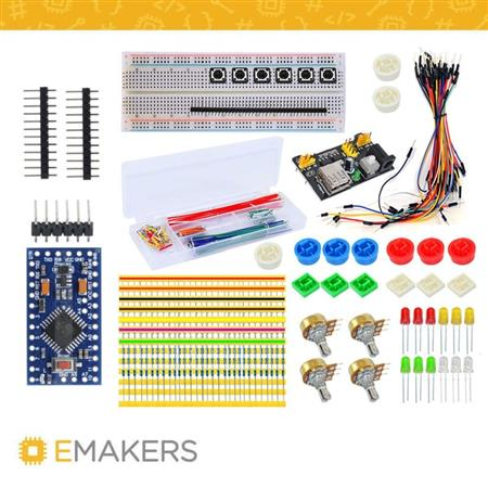 Kit Componentes Electronicos Start + Arduino Pro Mini